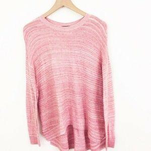 Lou & Grey Pink Long Sleeve Tunic Top Medium